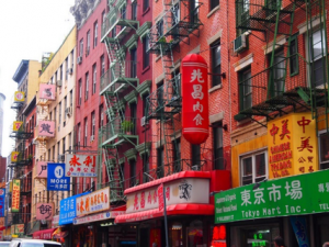 China town di Manhattan