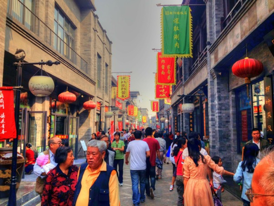 abitanti di Pechino