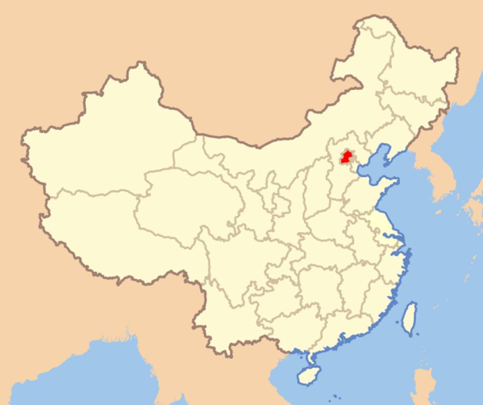 dove si trova Pechino