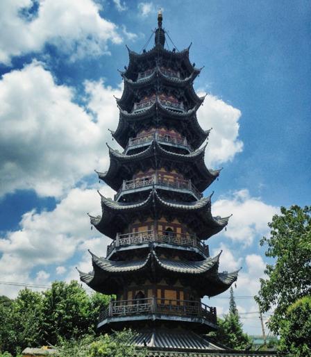 pagoda tempio Longhua