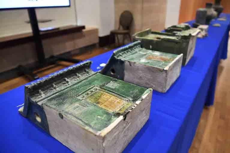 Gli USA restituiscono alla Cina 361 resti archeologici